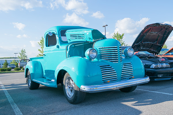 Event photo of victory car cruise